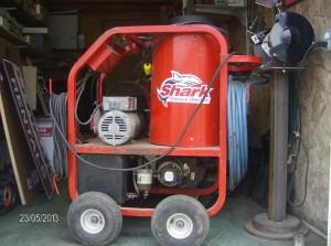 Heated Powerwasher